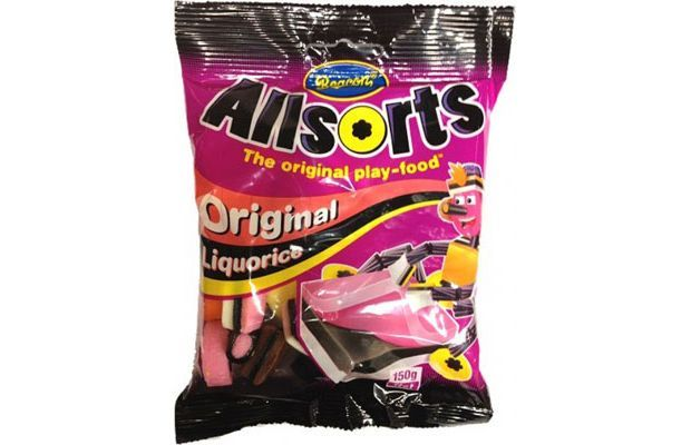 Beacon Liquorice Allsorts from South Africa