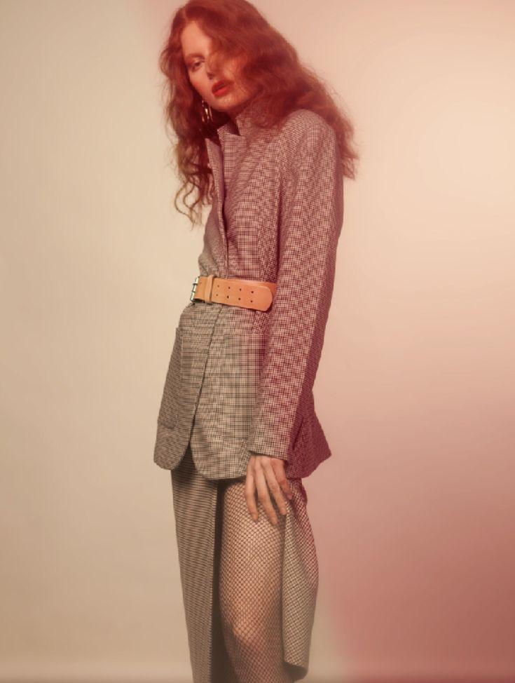 Model: Eline Boe Photo: Kat Gade Stylist: Torstein Lohne Hair/Makeup: Charlotte Wold