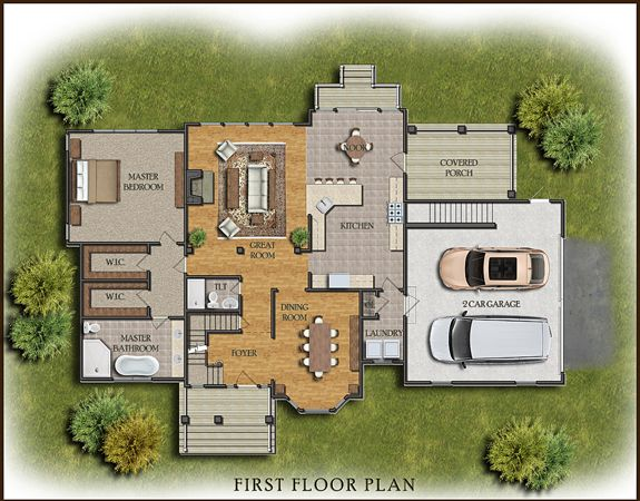 38 Best Architecture: Colored Floor Plan Images On