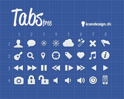 Tabs - Interface Icons for Developers & Designers
