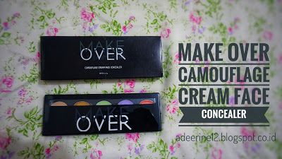 Beginner Beauty Enthusiast: REVIEW : MAKEOVER CAMOUFLAGE CREAM FACE CONCEALER ...