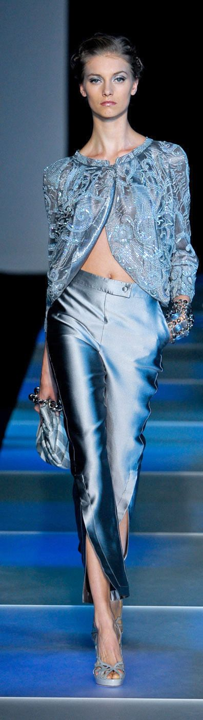 Giorgio Armani Spring 2012 RTW Fashion Show                                                                                                                                                                                 More
