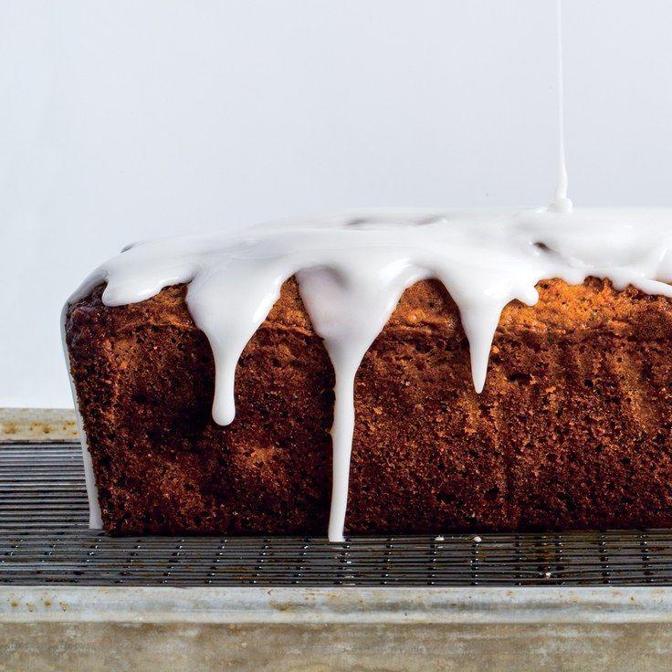 Grapefruit–Poppy Seed Loaf Cake With Yogurt Glaze