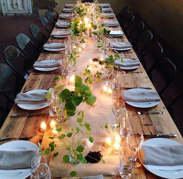 Simples e elegante! Decore a mesa dos convidados gastando pouco!