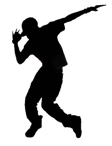 Silhouette - Male Dancing | Party - Dance / Pop Star ...