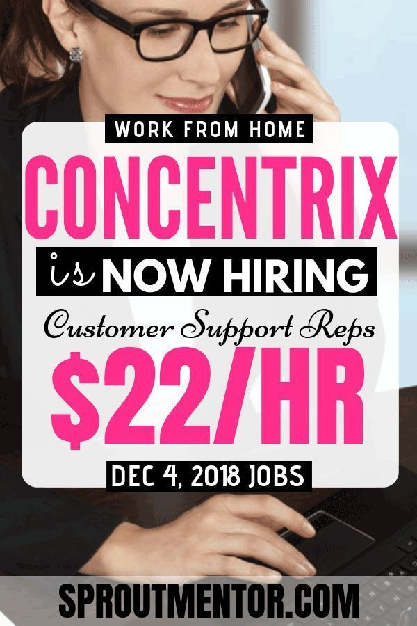 Work From Home Jobs @ Concentrix (Hiring Now)