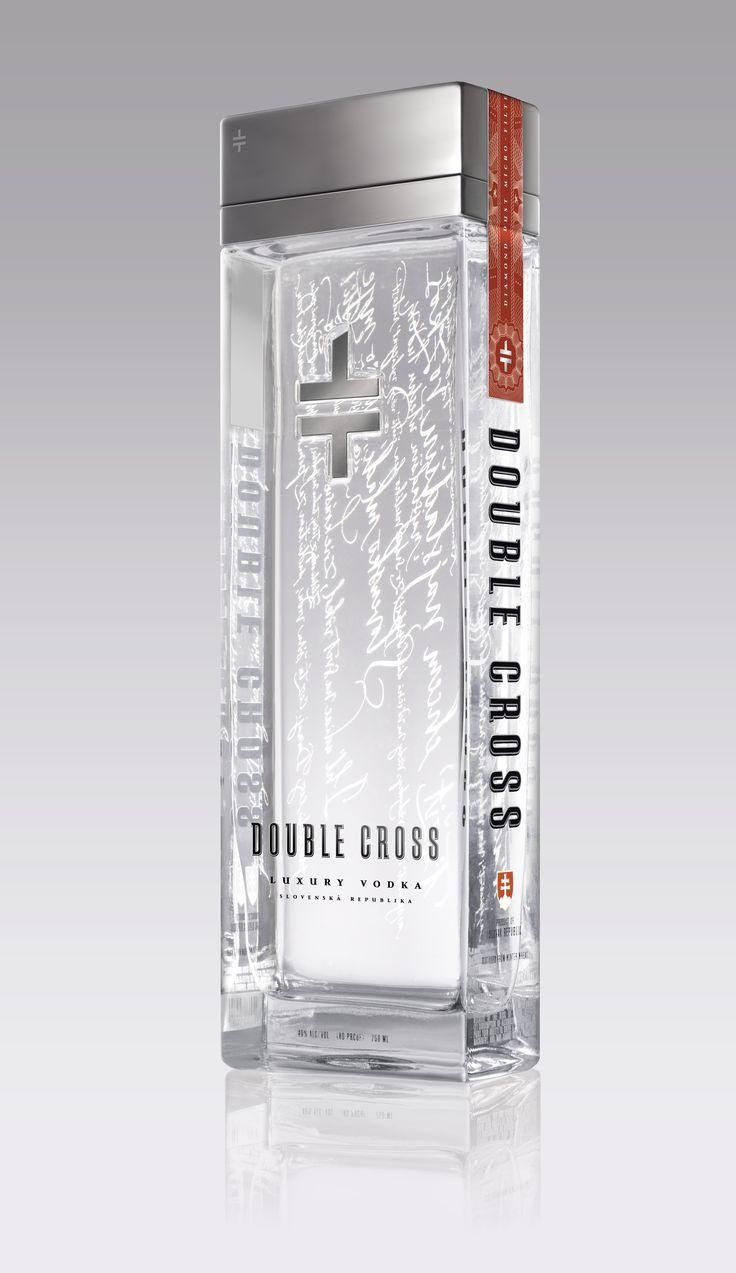 double cross vodka from slovakia!