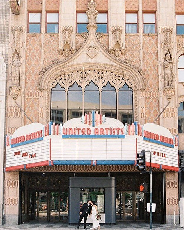 Can you see what we're seeing? This wedding has #California written all over it! We love that the #bride and #groom chose the United Artists Theater in #LosAngeles as their #weddingvenue      @heatherwaraksa #la #visualsoflife  #thatsdarling #stylediaries #dreamwedding #weddinggoals #elegantweddings #wedding #weddings #weddinginspiration #weddingphotography #luxurywedding #weddingstyle #weddingdesigns #summerweddings #springweddings #weddingdecoration #weddingreception #weddingplanners…