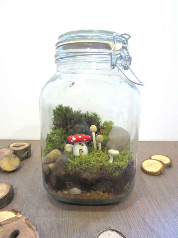 Fairy Garden Terrarium | 15 Enchanting Fairy Tale Crafts You Can Own