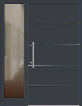 Haustüren anthrazit mit seitenteil  Die 25+ besten Haustür mit seitenteil Ideen auf Pinterest ...
