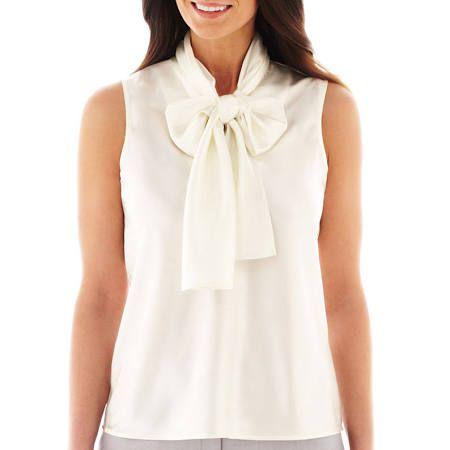 white blouse with big bow - Google Search