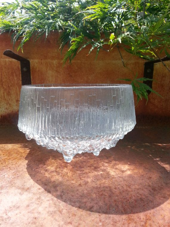 Vintage Iittala Ultima Thule deep serving bowl by by fcollectables, €30.00