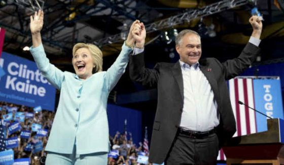 Hillary Clinton: Vice President Pick Tom Kaine Continues To Attract Scorn Disappointment From Progressives