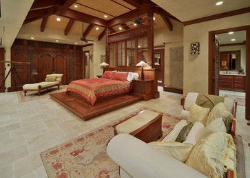 Beautiful Indonesian Teak Doors U0026 Furniture. Bali House   Tropical   Bedroom    Hawaii