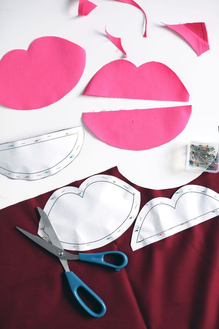 Zip Tus Labios bolsa Tutorial - A Beautiful Mess