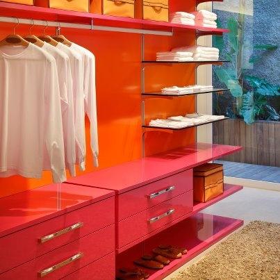 Pink/Orange Closet Lacca