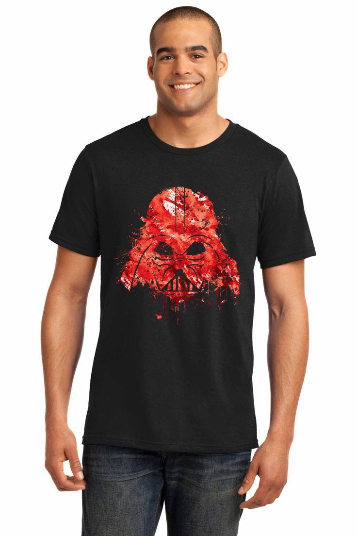 Darth Vader shirt, darth vader tshirt, star wars shirt men, star wars tshirt, t-shirt gifts for him, star wars clothing, star wars tee T2 by artRuss on Etsy