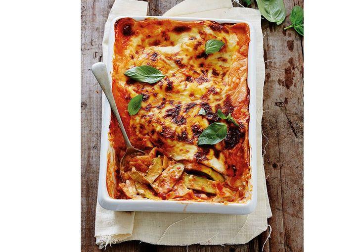 Lasagne med squash   Tara.no