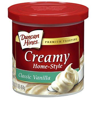 Duncan Hines Creamy Home-Style Frosting (Classic Vanilla)