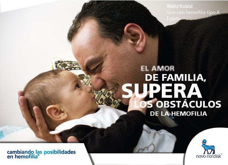 La familia: Principal aliado en el tratamiento de la #hemofilia.  ¡Un feliz inicio de semana para los miembros de nuestra comunidad y para sus familias!