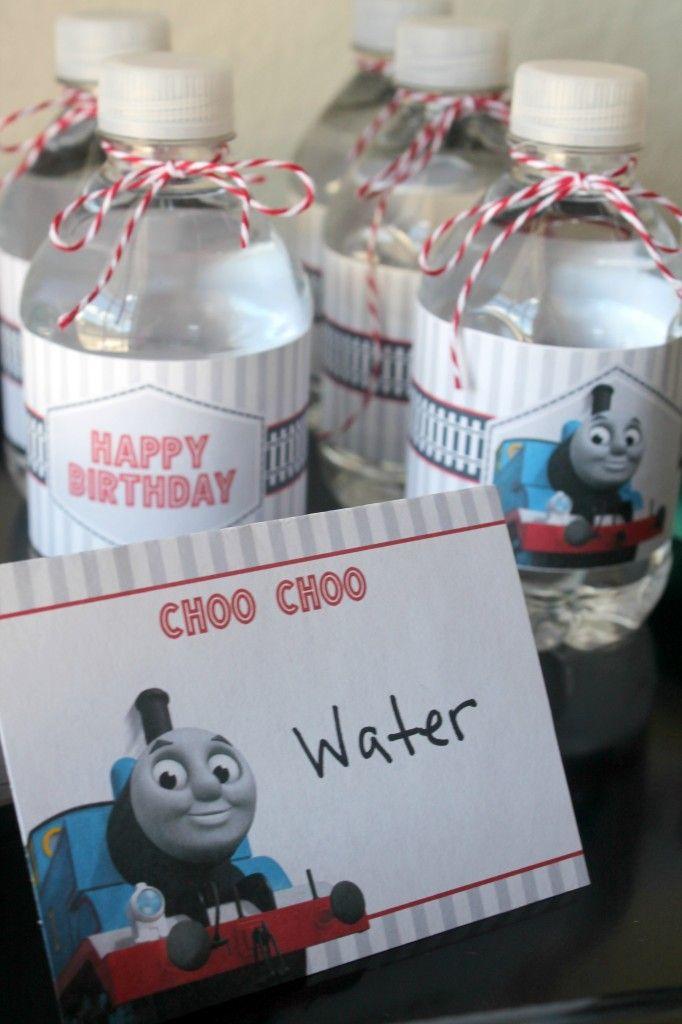 Free Thomas The Train Engine Birthday Party Printables