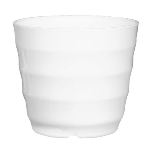 Bestselling Plastic Round Flower Plant Pot Planter Holder With Tray Home Office Garden Decor White