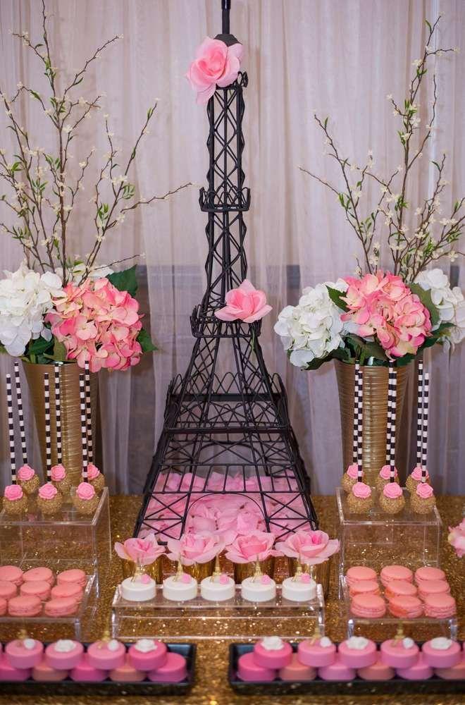 17 Best Ideas About Paris Bridal Shower On Pinterest