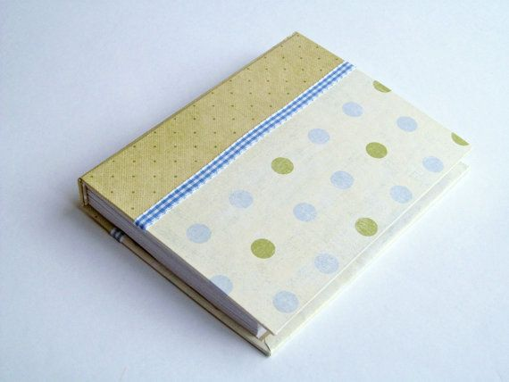 Bugskine Blue and Green Polka dots by bugcrafts on Etsy, $21.00