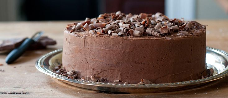 Cappuccino Chocolate Layer Cake with Mocha Frosting ...