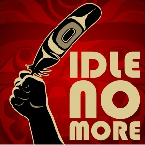 "Interested in learning more about ""Idle No More?"" An ""Idle No More Movement"" teach-in will take place Friday, January 18th from noon-1:00 pm in the Halpern Centre (Room 126). William G. Lindsay, Director of the Office for Aboriginal Peoples and Dr. Eldon Yellowhorn from the First Nations Studies Department will be lead the discussion."