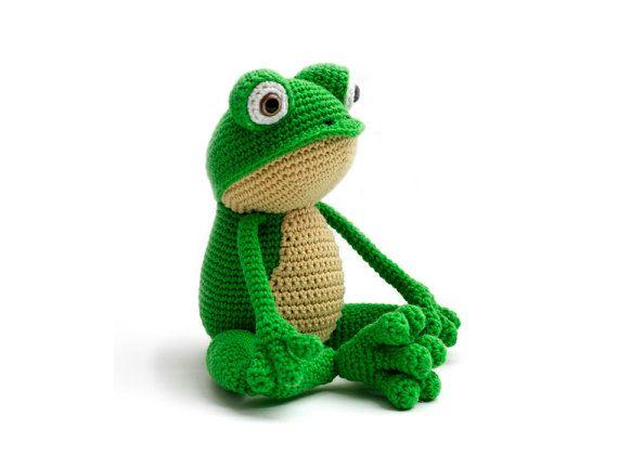 Ber ideen zu frosch h keln auf pinterest h keln - Frosch auf englisch ...