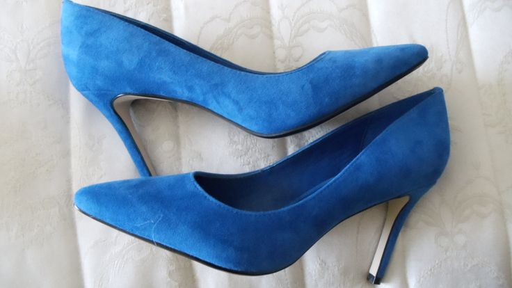 Blue Suede Shoes!