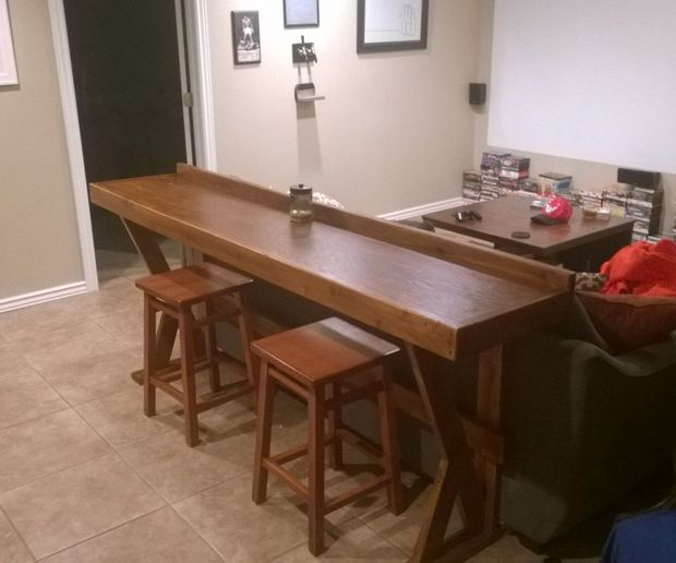 25 Best Ideas About Bar Behind Couch On Pinterest Table