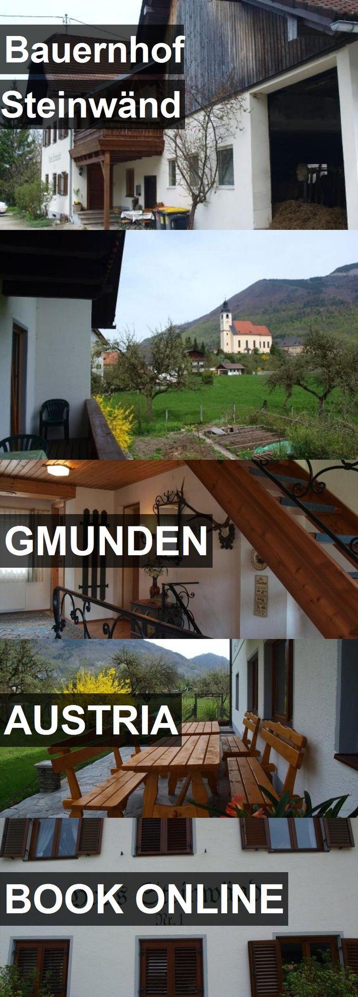 Hotel Bauernhof Steinwänd in Gmunden, Austria. For more information, photos, reviews and best prices please follow the link. #Austria #Gmunden #travel #vacation #hotel