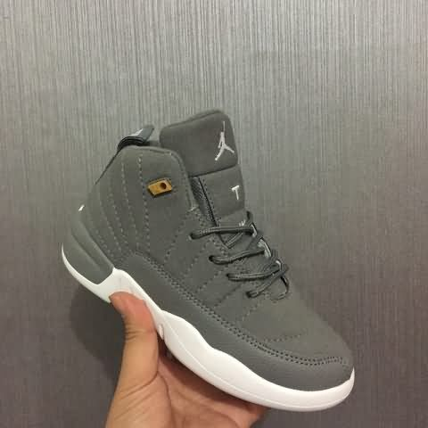 reputable site 2e611 def7c Cheap Air Jordan 12 Kid Velvet shoes #gray Only Price $47 To ...