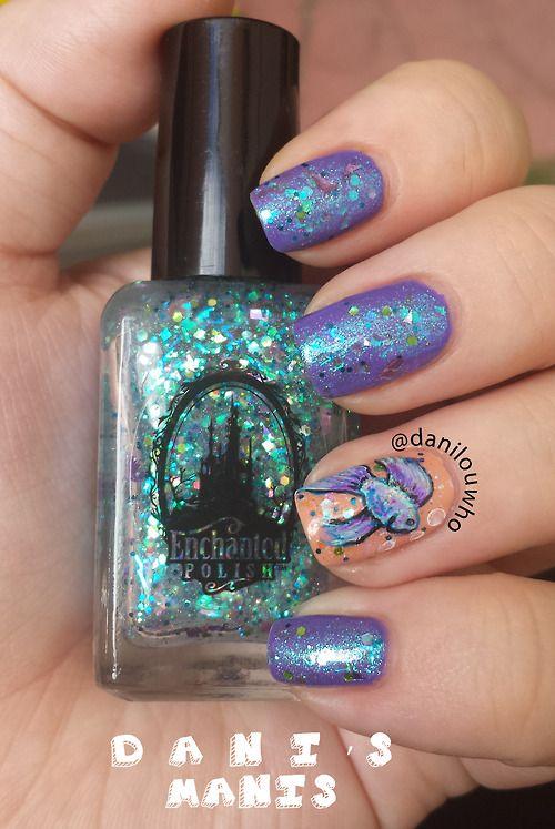 fish nail art ideas