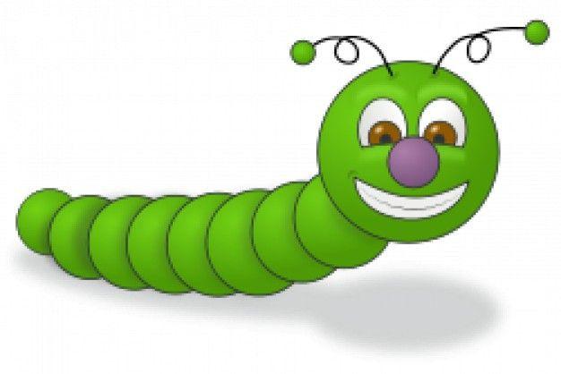 gusano verde | Descargar Vectores gratis