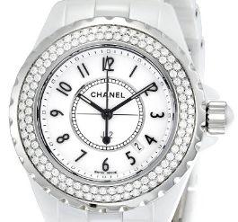 Diamonds White Dial Watch