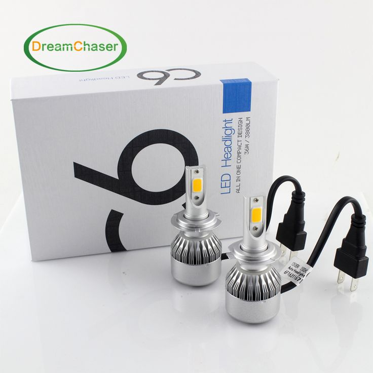2pcs H7 Led H4 Car Headlights 72w 7600lm Car Led Light Bulbs H1 H3 H8 H9 H11 9005 9006 Automobiles Headlamp 6000K/3000K Fog Lamp * Click the VISIT button to find out more