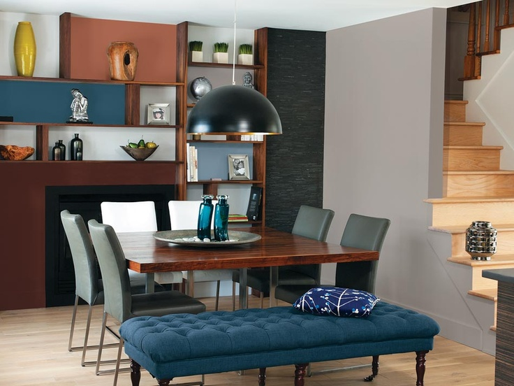 2014 Dining Room Trends And What To Expect College Nice Dicreet Luxury Palette New Home Decor Table Bench