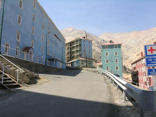 Sewell Mining Town Chile