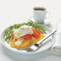 Regal Smoked Salmon on Potato Rosti with Poached Egg