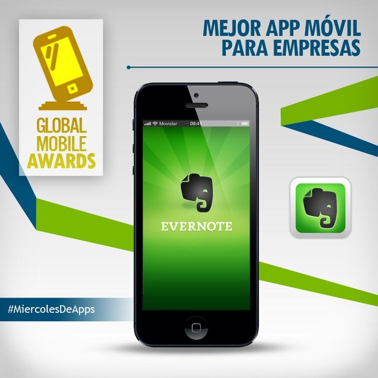 Evernote gana premio en los GMA.