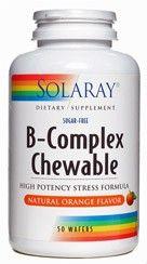 Solaray B-Complex Vitamin B Supplement