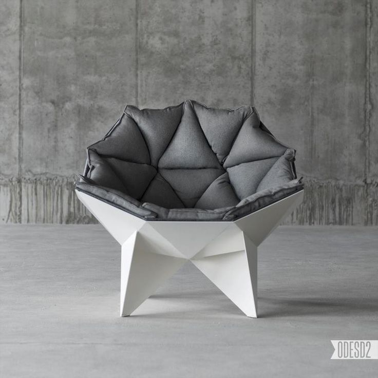 Designed By The Lounge Chairu0027s Shape Is Inspired By Buckminster Fulleru0027s  Geodesic Dome. Do You Think It Looks Comfy? By Designmilk