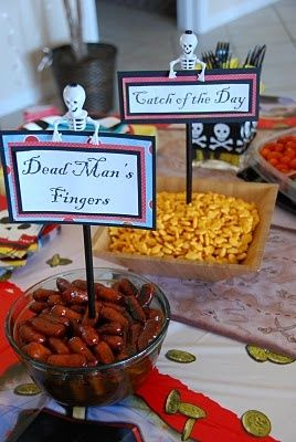 ThanksFun food ideas for pirate party awesome pin