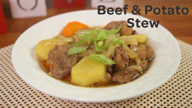 This Beef and Potato Stew Recipe Will Make Your Dinner Date Extra Special