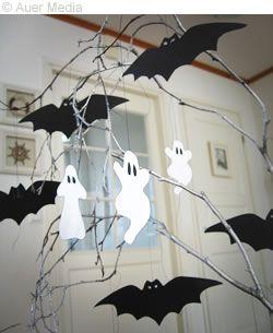 Spel och pyssel - Pyssel - HALLOWEEN - Spökträd