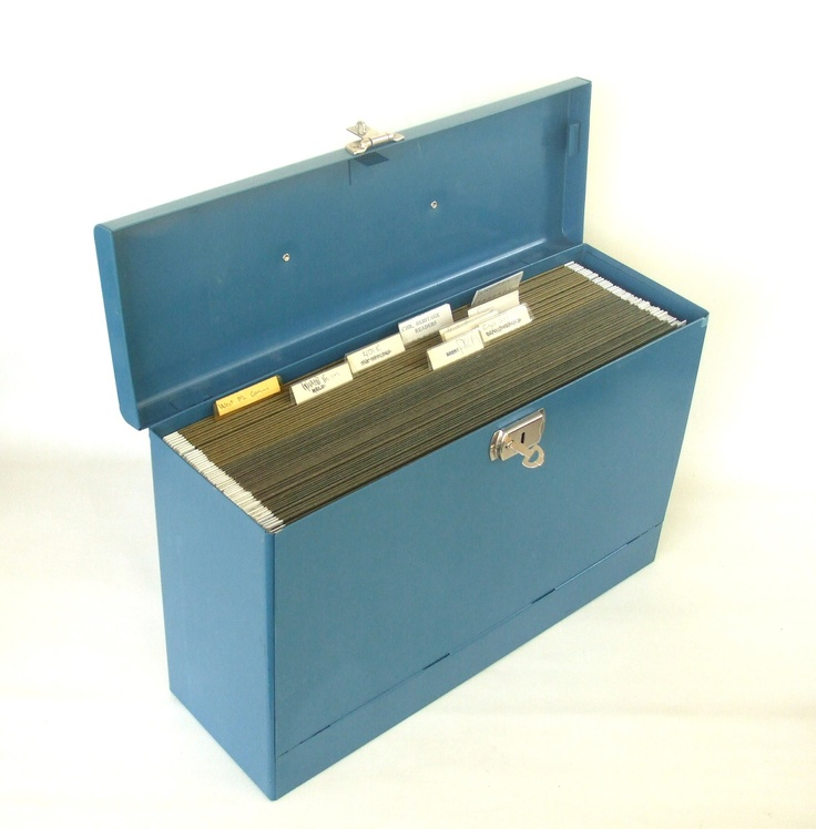Industrial Legal File Box & File Folders