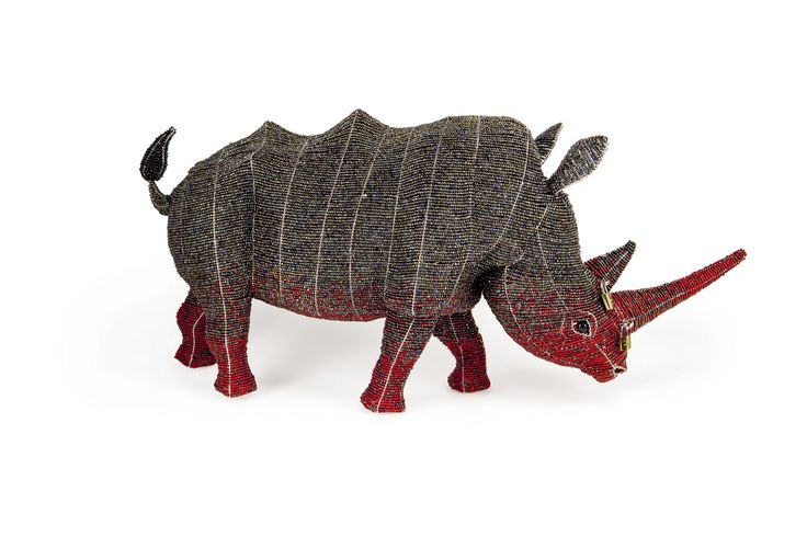 Large Locked Horn Rhino http://lockedhornproject.com/